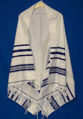 Lowest Prices On Blue Tallit Prayer Shawl